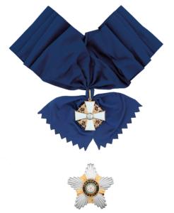Suomen Valkoisen Ruusun suurristi - Storkorset av Finlands Vita Ros'orden